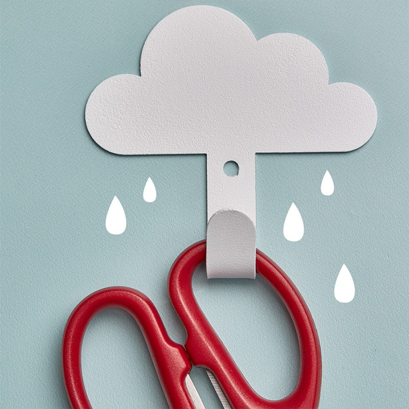 雲朵造型掛勾 白雲黏貼掛勾 居家掛鉤 黏膠掛鉤 居家裝飾 掛勾 免釘掛勾【RS1206】