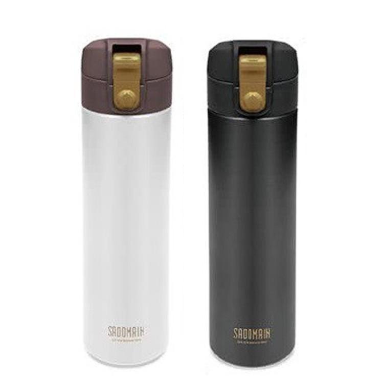 【仙德曼Sadomain】316極度輕量運動彈跳瓶500ml - 共2色 《泡泡生活》保溫瓶 水壺