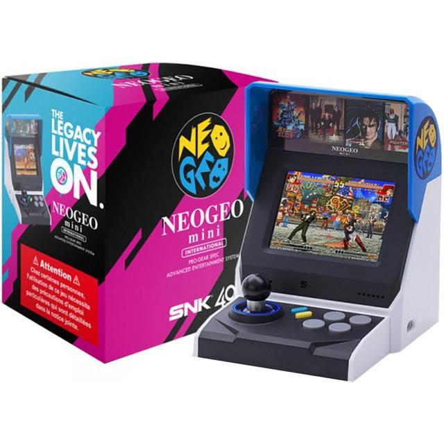 SNK 海外版動作系列 40周年紀念遊戲機 NEOGEO mini 迷你SNK主機【魔力電玩】