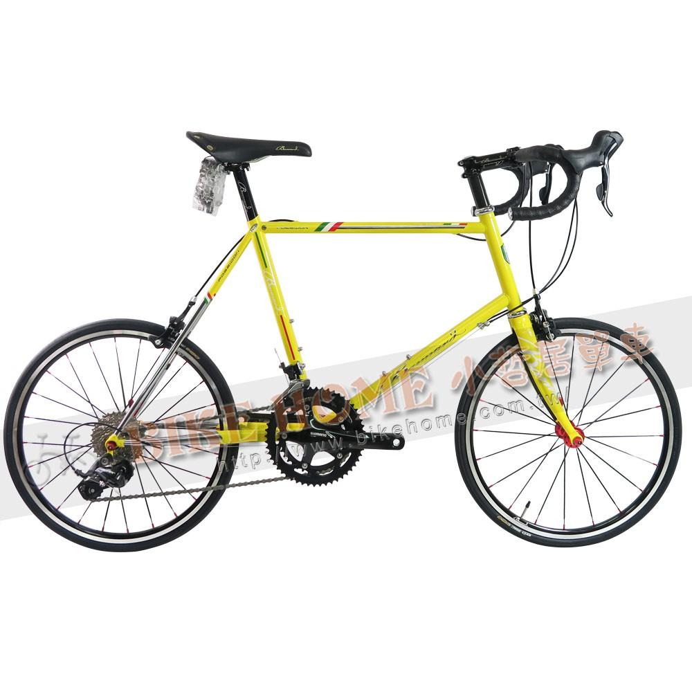 小哲居 BANNARD 班納德 海神號 Poseidon 波賽頓 復古造型彎把小徑車 黃色46*1 現金價