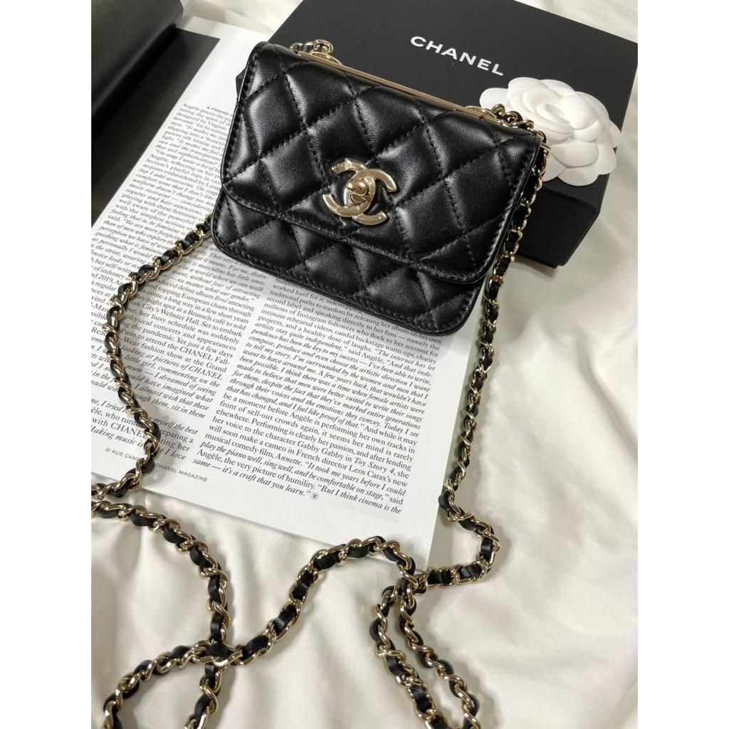 台灣現貨(!) Chanel trendy cc mini 新版 超級可愛 愛麋鹿歐美精品全球代購since2005💜