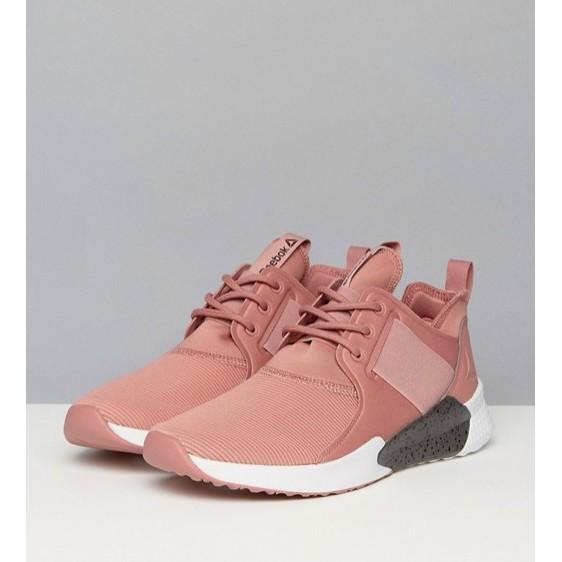 【轉售】Reebok GURESU 1.0 訓練鞋 24號 女鞋 日本帶回 7成新 乾燥玫瑰色