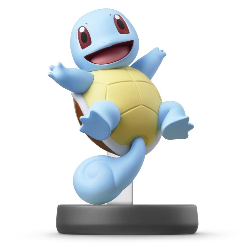 Nintendo Switch 任天堂明星大亂鬥 神奇寶貝 amiibo 傑尼龜 精靈寶可夢 【台中星光電玩】