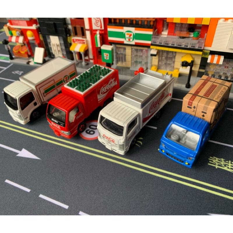 Tomica 貨車模型車 宅配車/可口可樂/黑貓/7-11/發財車/物流車/貨卡/Isuzu/Subaru/小貨車/可樂