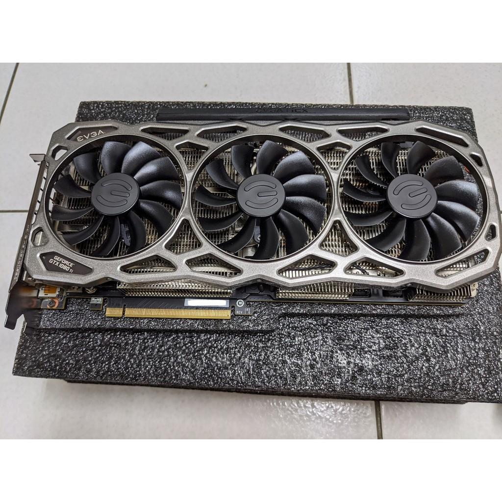 EVGA GeForce GTX1080Ti FTW3 DT GAMING 保內 遊戲用無挖礦