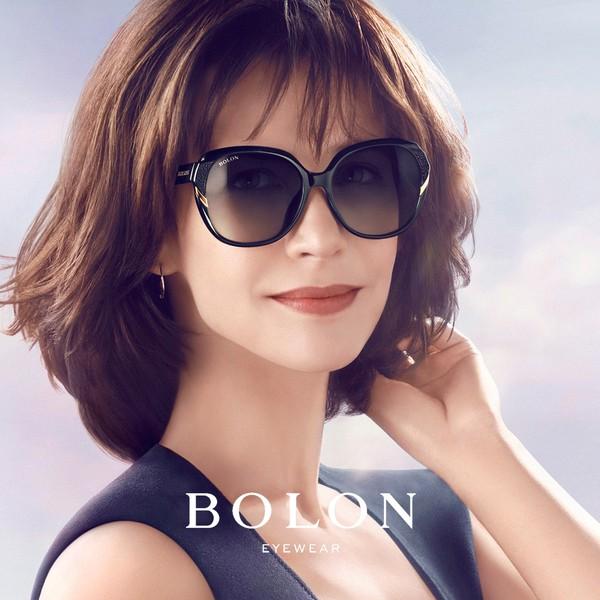 【BOLON 暴龍】晶鑽大矩方框太陽眼鏡 時尚流行款 BL2511