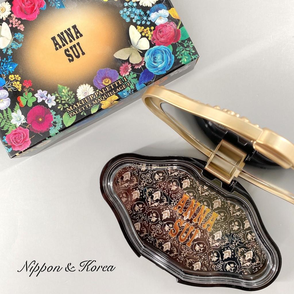 ANNA SUI 彩妝盒 Makeup Palette Case 1 眼影盒 腮紅盒 空盒 組裝盒 安娜蘇 ❤現貨❤