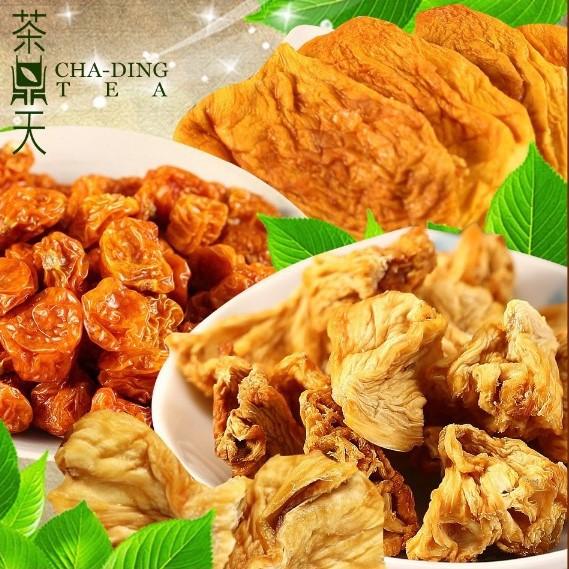 【茶鼎天】天然愛文芒果乾/天然金鑽鳳梨乾/天然黃金莓 果乾3入