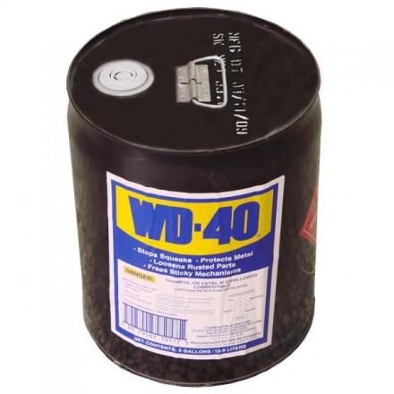 來電4050最低價~附發票(東北五金)WD-40 多功能防銹潤滑劑 5加侖~金屬防銹油.防鏽油.除鏽油