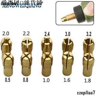 全場滿300發貨:電磨配件 電磨夾頭電磨機三爪銅夾頭 螺帽 銅夾心0.5-3.2mm多規格/ czepi1iaa7 高雄市