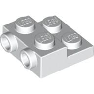 LEGO 6046979 99206 白色 2x2 2/3 側接轉向 薄板