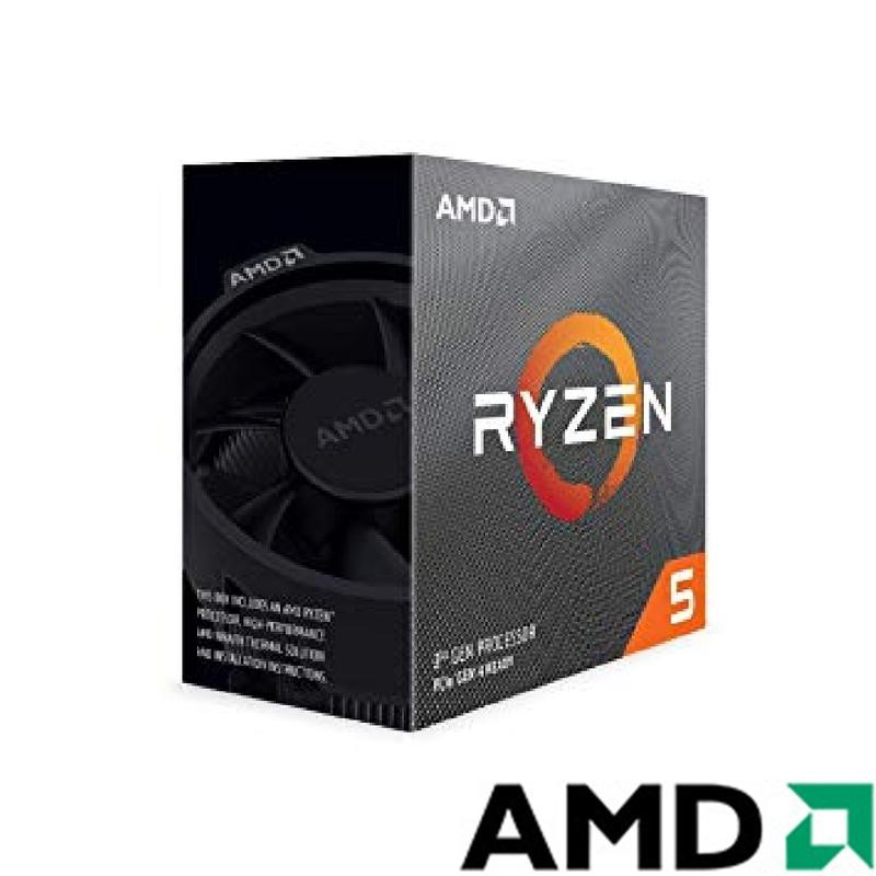 AMD Ryzen R5 3500X 處理器(六核六緒/AM4/內含風扇)
