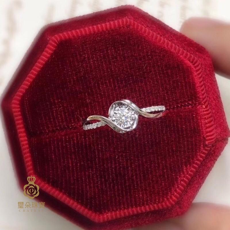 璽朵珠寶 [ 18K金 10分 典雅 鑽石戒指 ] 微鑲工藝 精品設計 鑽石權威 婚戒顧問 婚戒第一品牌 鑽戒 GIA