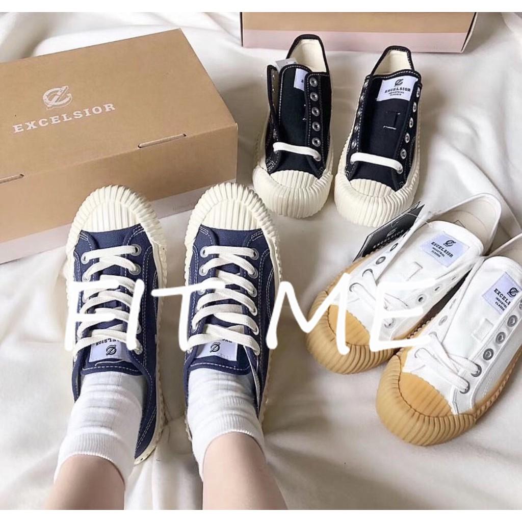 韓國連線代購 Excelsior 餅乾鞋 二代 情侶鞋 帆布鞋 多色可選