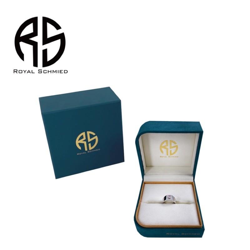 ROYAL SCHMIED 皇家鍛造真鑽戒指100%實拍 男性鑽戒 戒圍可調 保證正品 男性必備!