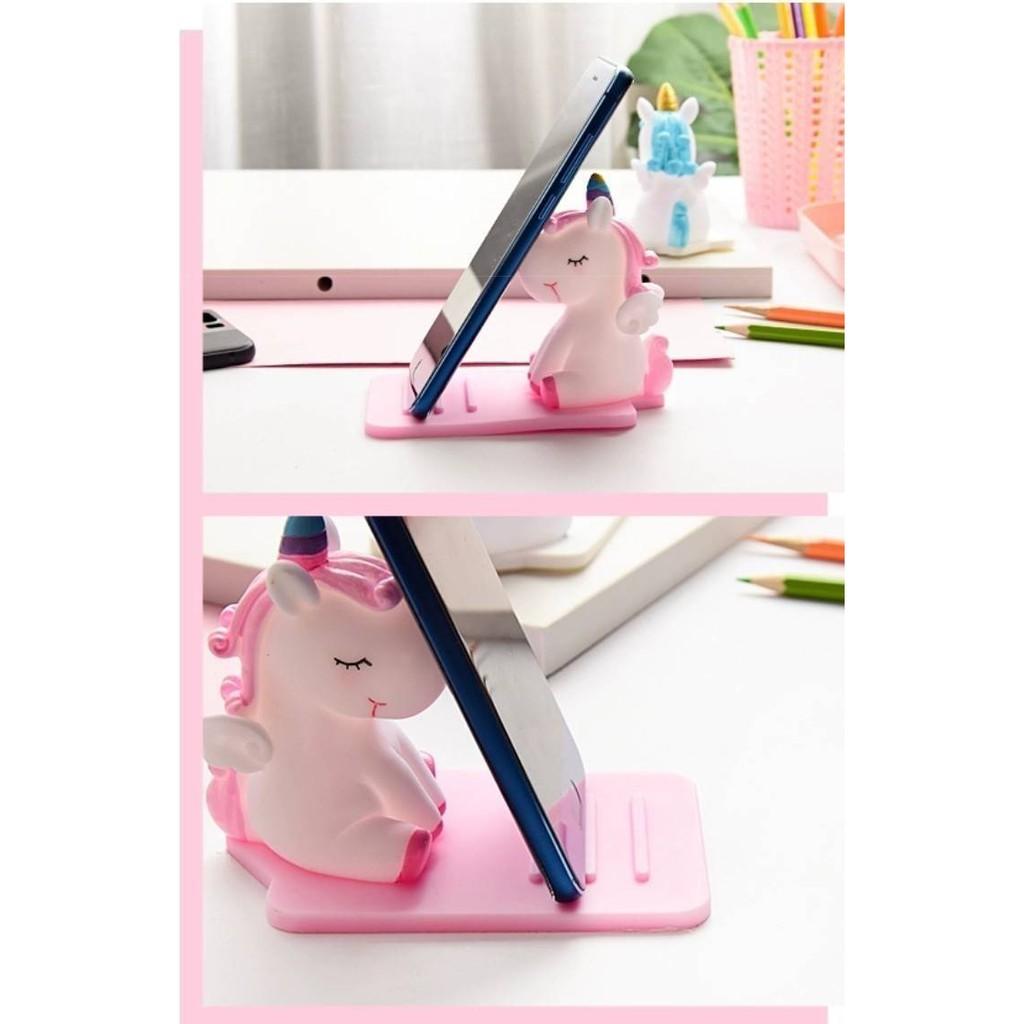 創意小物 獨角獸造型 桌面多功能手機平板支架
