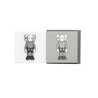 【日貨代購CITY】KAWS COMPANION 明信片 卡片 情人節 立體 貼紙 2色 叉叉 LOGO 現貨 桃園市