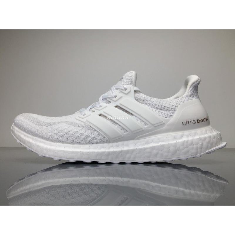 36bb308e92e65 Adidas Ultra Boost 4.0 黑白百搭透氣休閒慢跑鞋B22480 男