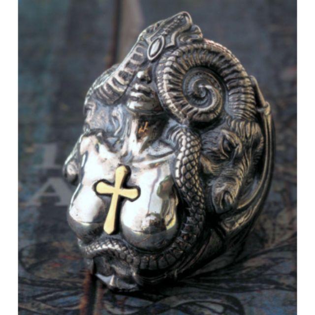 七大罪 色慾惡魔戒指 925純銀飾