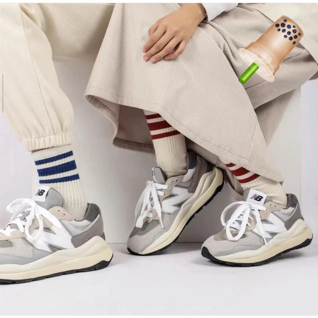 ◐鯉魚歐尼韓國門市直購◑New Balance M5740TA 灰白色 復古厚底慢跑鞋