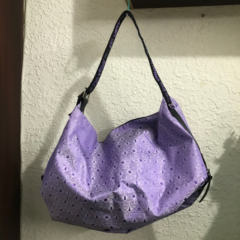 全新紫色Anna Sui側背包