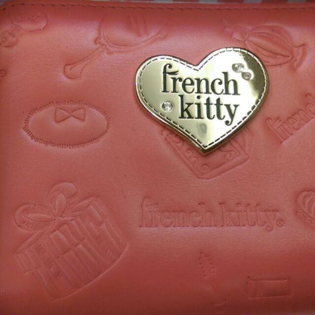 French kitty 短夾零錢包
