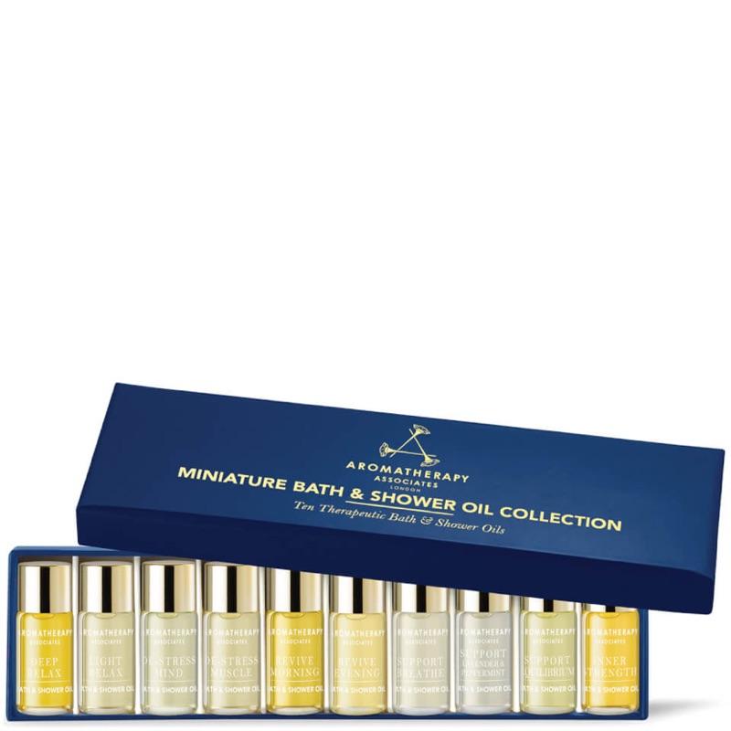 Aromatherapy Associates雅容瑪|水療沐浴油迷你十入禮盒|英國香薰品