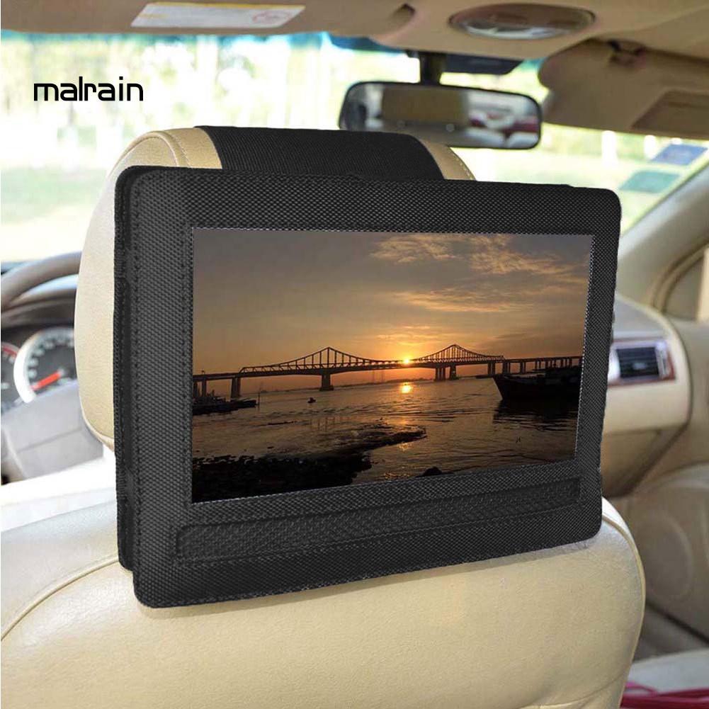 適用於DBPOWER 10.5英寸便攜式DVD播放器的可調節汽車頭枕安裝架