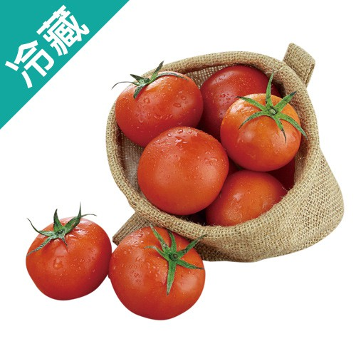 【台灣】人氣牛蕃茄1盒(500g±5%/盒)【愛買冷藏】