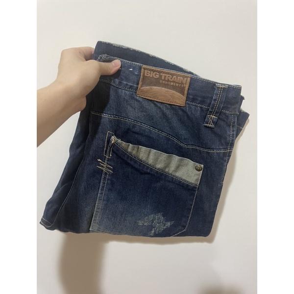 BIG TRAIN 短褲 牛仔褲 男