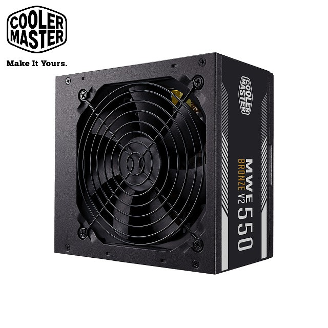 Cooler Master NEW MWE 550 BRONZE V2 80Plus 銅牌 550W 電源供應器
