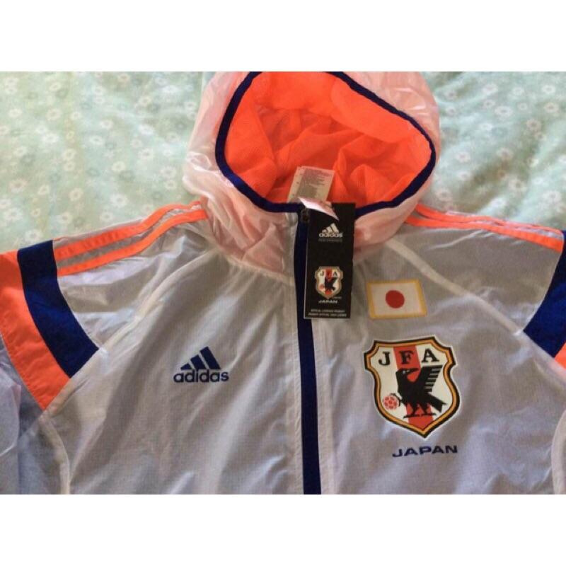 Adidas 2014年 世界盃足球賽日本 風衣出場外套