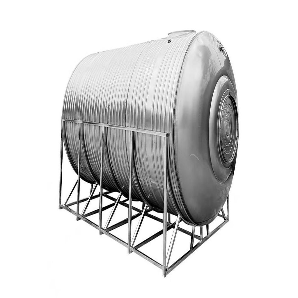 【直郵到府-環保型大容量儲水塔】304不銹鋼水箱臥式儲水罐水塔家用平放加厚太陽能樓頂廚房蓄水桶【儲水塔】