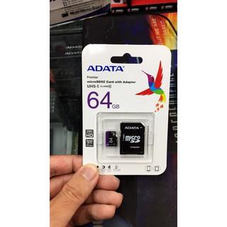 『高雄程傑電腦』 威剛 ADATA 64G MicroSDHC Class 10 UHS-I 新版紫卡【實體店家】 高雄市
