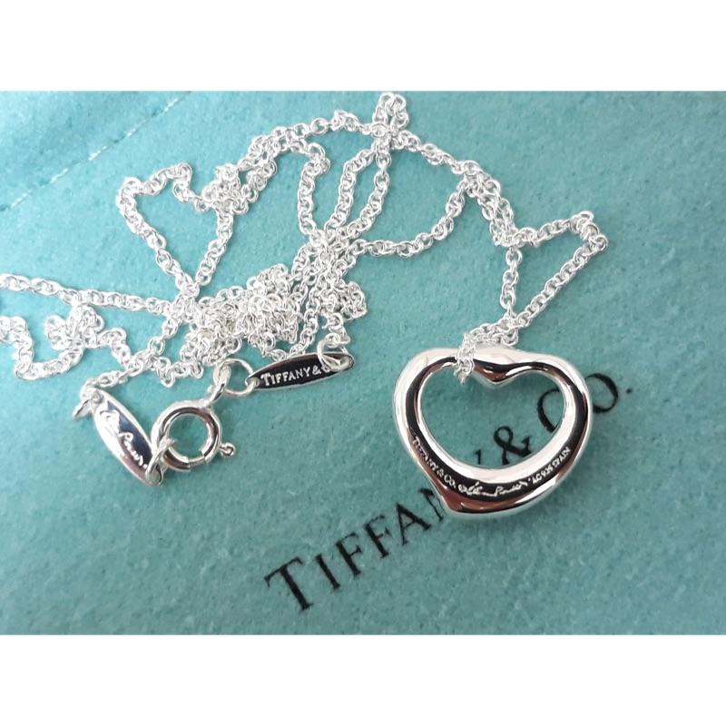 Tiffany&co 鑽石愛心項鍊