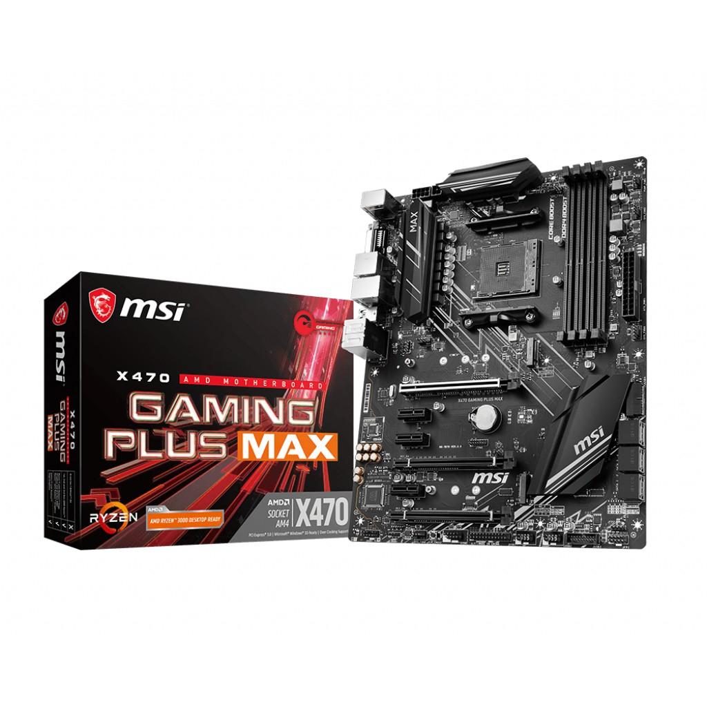 MSI 微星 X470 GAMING PLUS MAX 主機板