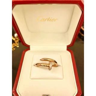 Cartier 卡地亞戒指 釘子戒指 明星、潮人生活里最常出現的點睛搭配元素 鑲鑽 時尚 氣質