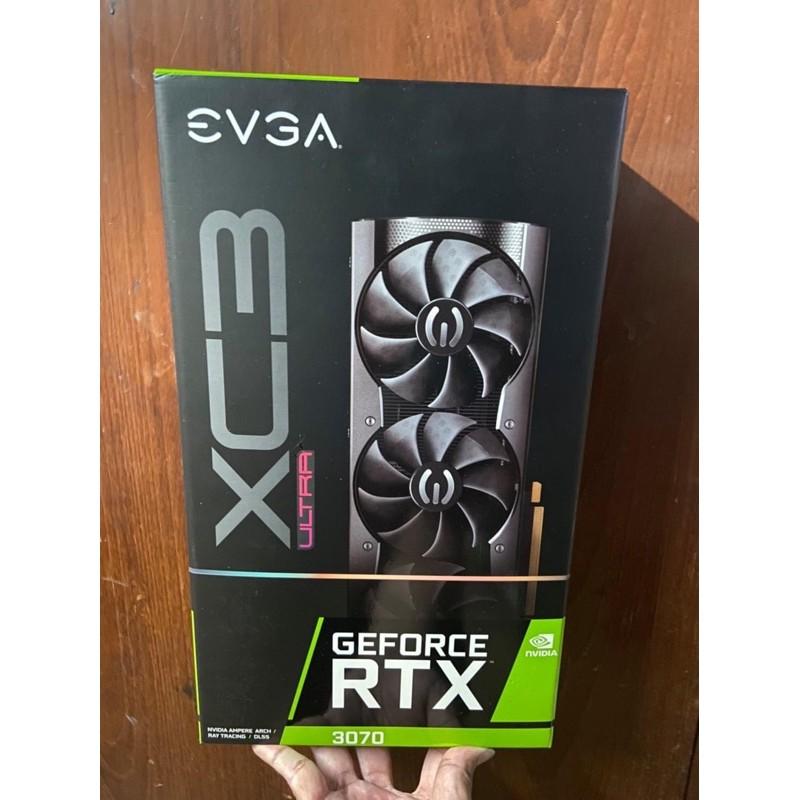 艾維克 EVGA RTX 3070 XC3 ultra 顯示卡 已註冊五年保 RTX3070 RTX3060ti