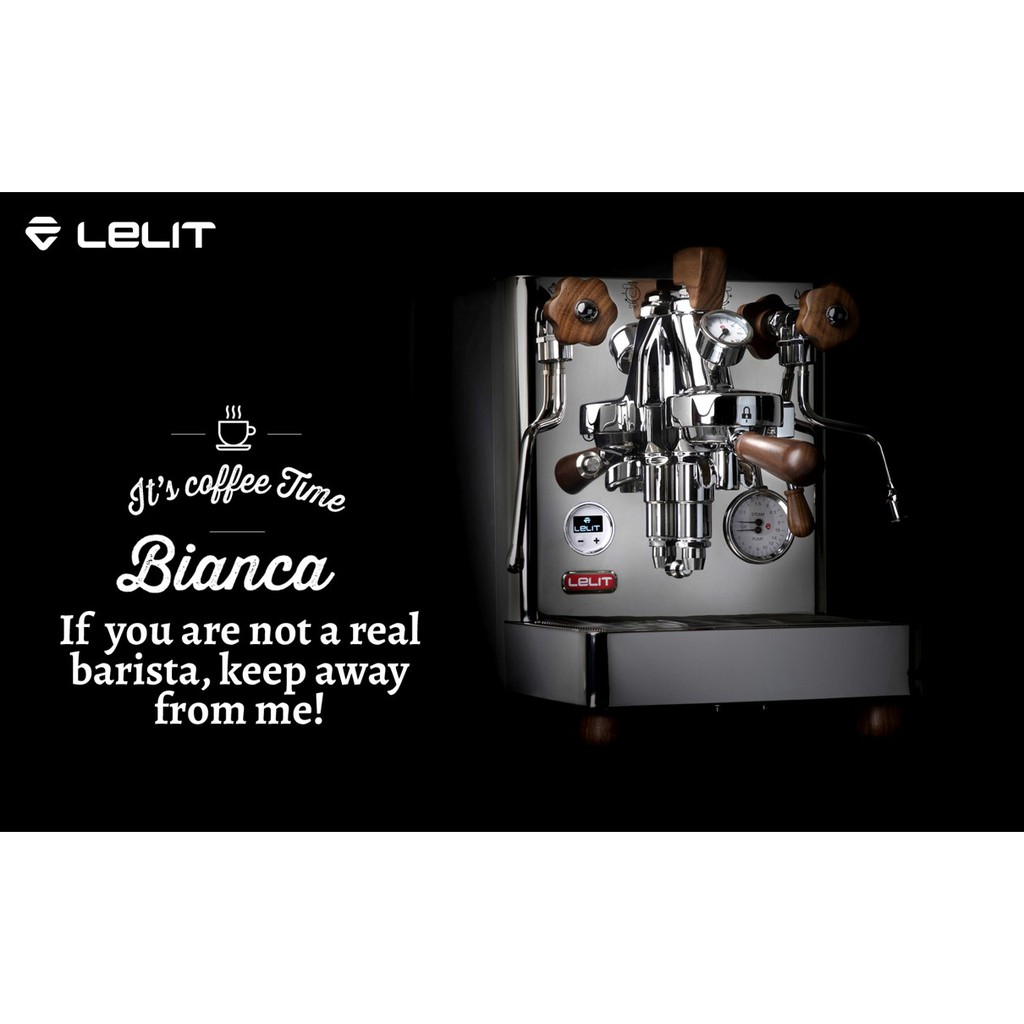 Lelit bianca PL162T 可變壓 PID 雙鍋爐 義式 咖啡機