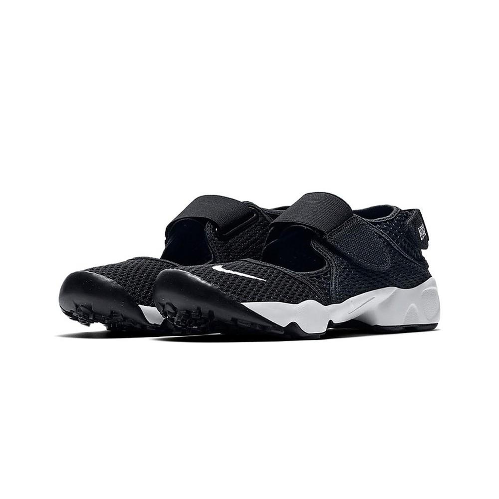 NIKE 兒童 涼鞋 忍者鞋 RIFT (GS/PS BOYS) 322359014 (202104) 黑 魔鬼氈