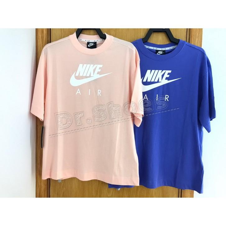 【Dr.Shoes 】藍CJ3106-500 粉664 Nike LOGO 落肩 短TEE 短袖T恤 運動T恤 寬鬆