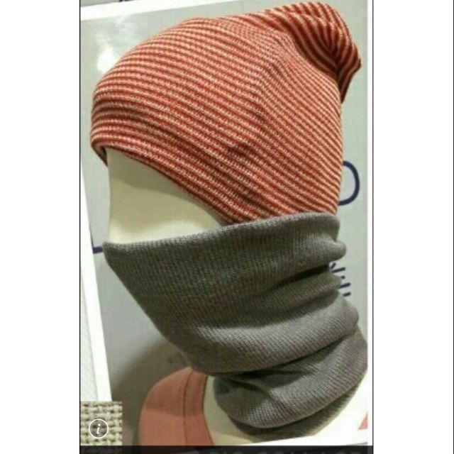 妮芙露負離子妞妞帽,脖圍帽子口罩多用途
