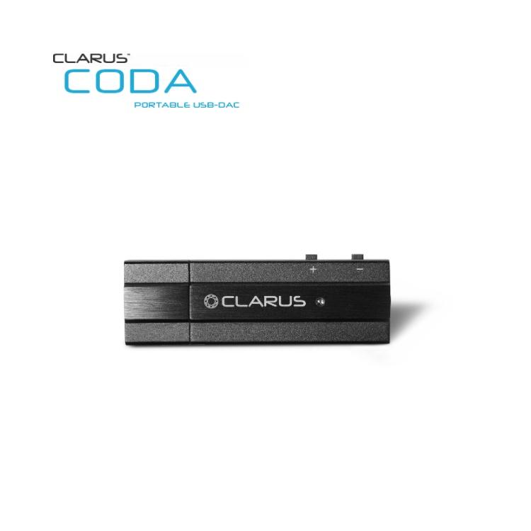 CLARUS CODA 便攜式 USB-DAC 支援TIDAL MQA 解碼