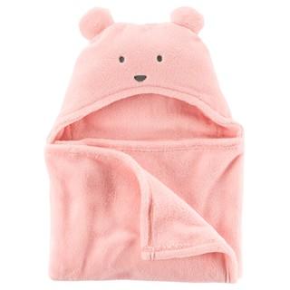 MIABABY 美國童裝 【賠本出清】Carter's 粉色熊熊連帽浴巾 現貨 彰化縣