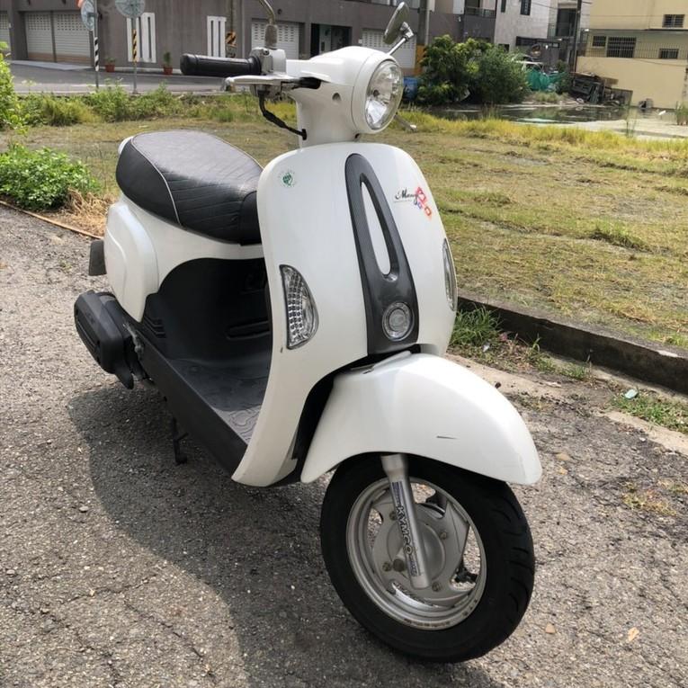 🔥 Many 110 2015 年 白色 台南 永康區 KYMCO 光陽 魅力 機車 二手機車 重型機車 自售 現貨