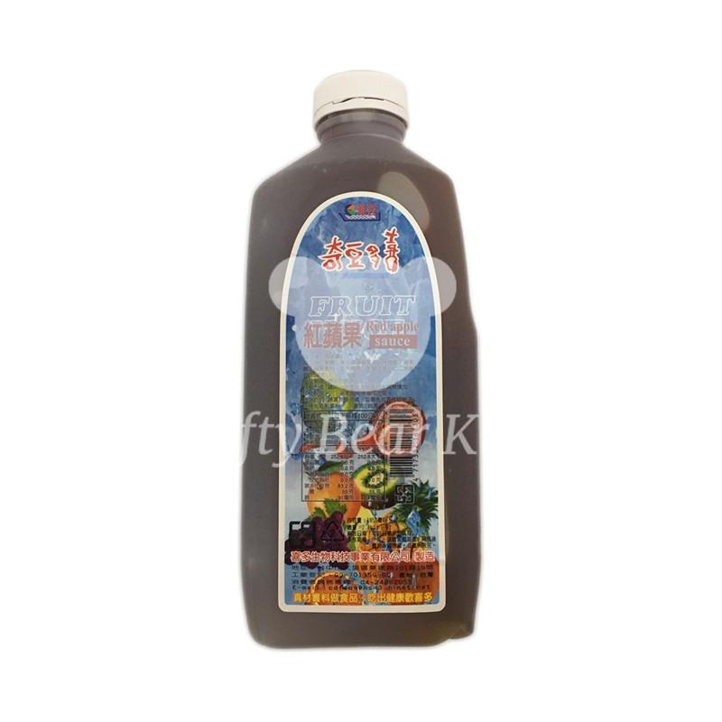 【小資熊廚房】奇豆濃縮蘋果汁/早餐店/紅茶/綠茶/奶茶/茶葉/飲料/果汁/糖漿