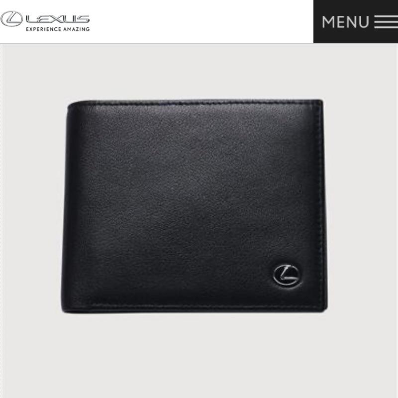 Lexus-Nappa經典短皮夾