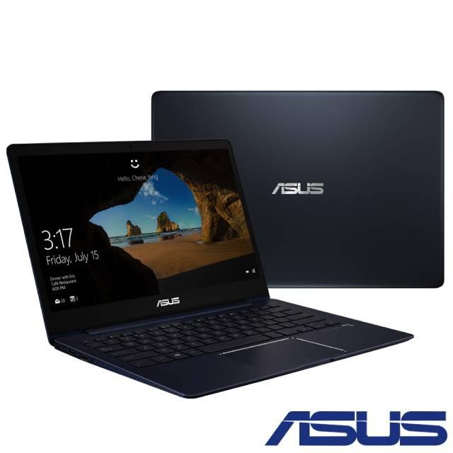 【Asus華碩】Zenbook 13 UX331( i5-8265U/8G/512G SSD)13吋超輕薄筆電-深海藍