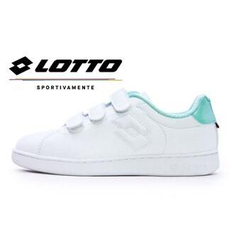 金英鞋LOTTO樂得-義大利第一品牌 女款1973 INSPIRED 系列經典復古網球鞋 [6865] 白綠特賣498元