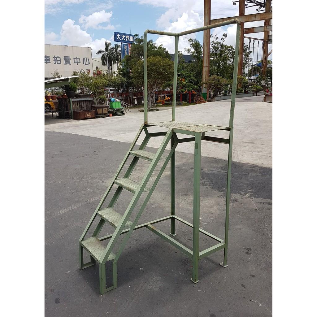 [龍宗清] 鐵樓梯 (19092603-0012) 樓梯鐵 鐵製樓梯 鐵製爬梯 登高樓梯